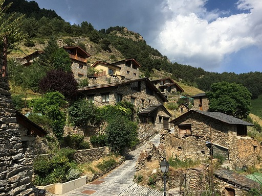 Andorra la Vella'daki Sant Esteve