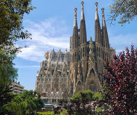 Muhteşem Sagrada Familia