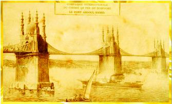 Sultan İkinci Abdülhamid'in Boğaz Köprüsü Projesi